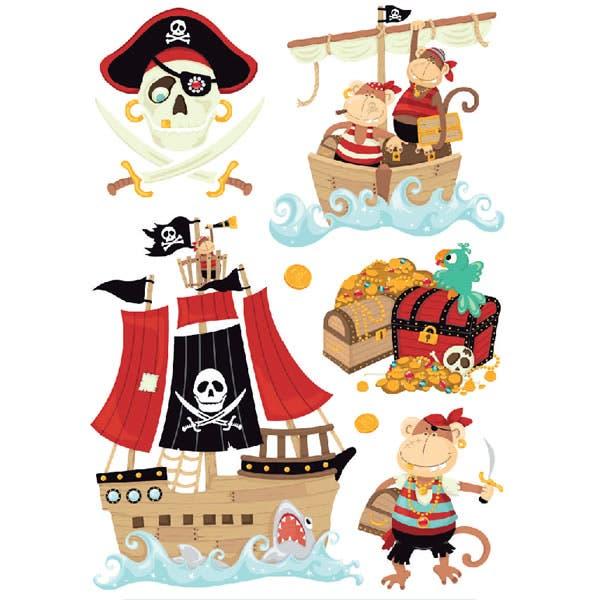 C mo organizar una fiesta infantil - Pirata colorazione pirata stampabili ...
