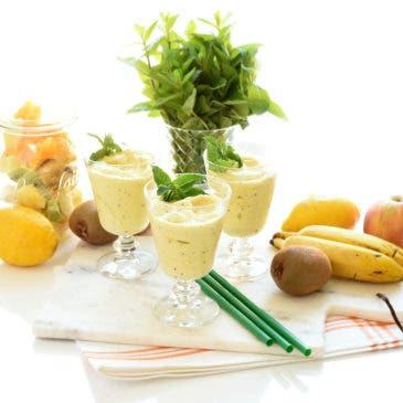Sorbete de frutas