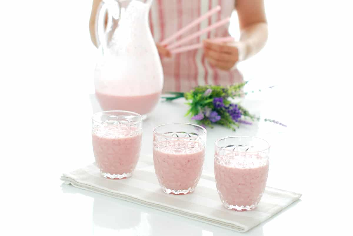 Batido de fresas con Thermomix®
