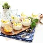 Crema helada de limón