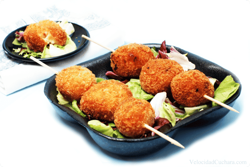 Resultado de imagen para Croquetas de jamón caseras con salsa bechamel