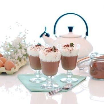 Dalkys o yogur de crema de chocolate con nata