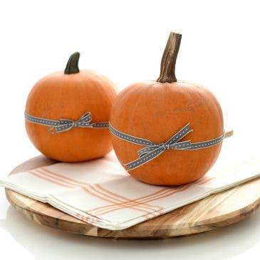 Calabazas decoradas para Halloween, paso a paso
