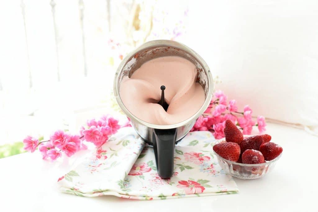 Espuma de fresas con Thermomix®