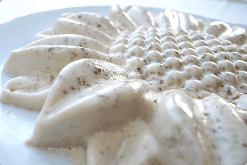 Flan de horchata