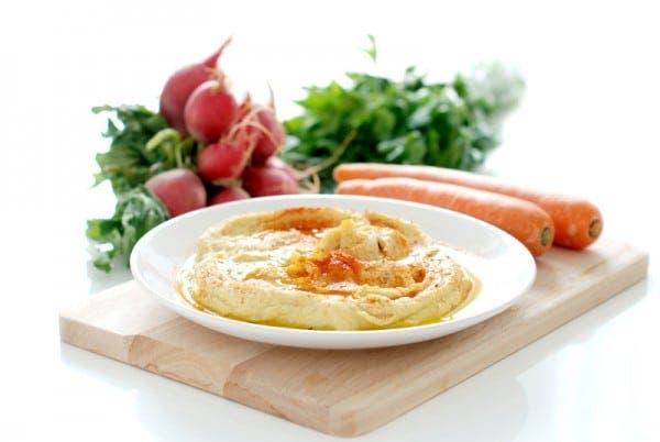 Hummus de garbanzo con thermomix en 1 minuto