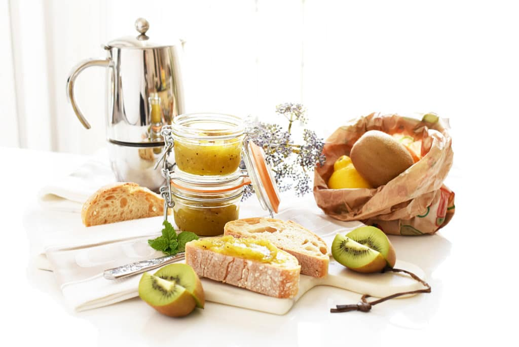 Mermelada de kiwi con Thermomix®