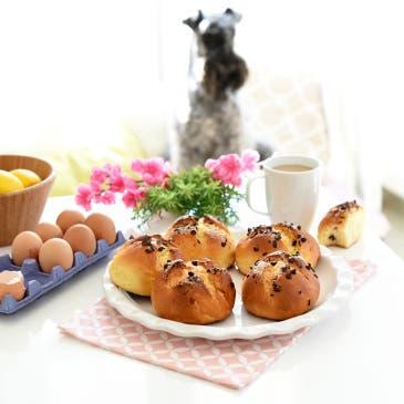 Mini panquemados de Pascua