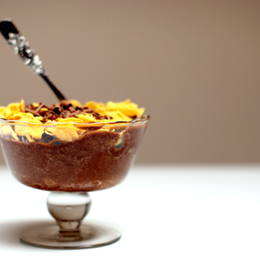 Mousse de chocolate con CornFlakes