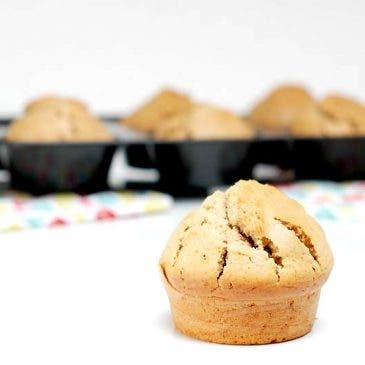 Muffins con cerveza negra
