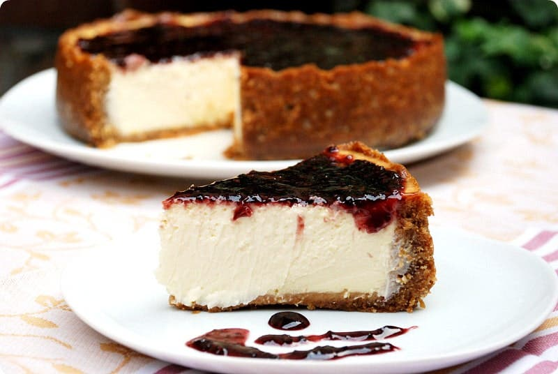 New York cheesecake con Thermomix