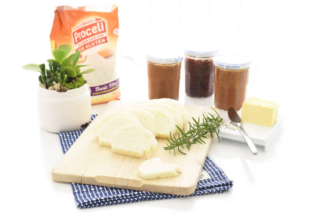 Pan al vapor sin gluten