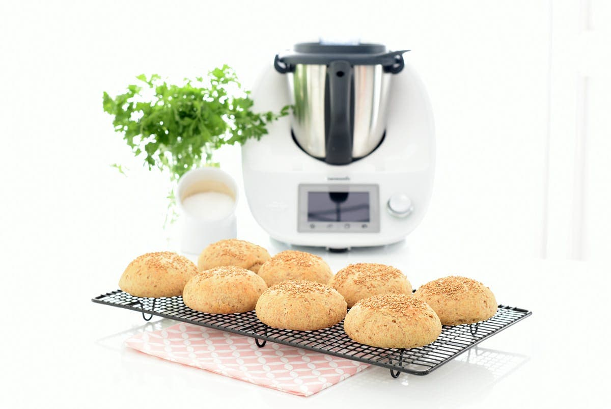 Pan de hamburguesa en Thermomix®