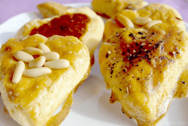 """Pastitas saladas  para """"San Valentín"""""""