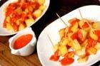 Receta de Patatas con salsa brava en Thermomix