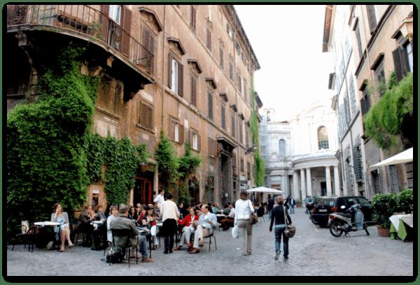 Roma: Vía della Paz
