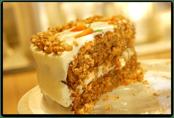 Roma: Josephine's Bakery , tarta de zanahoria