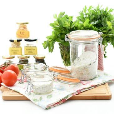 Sal aromática de verduras
