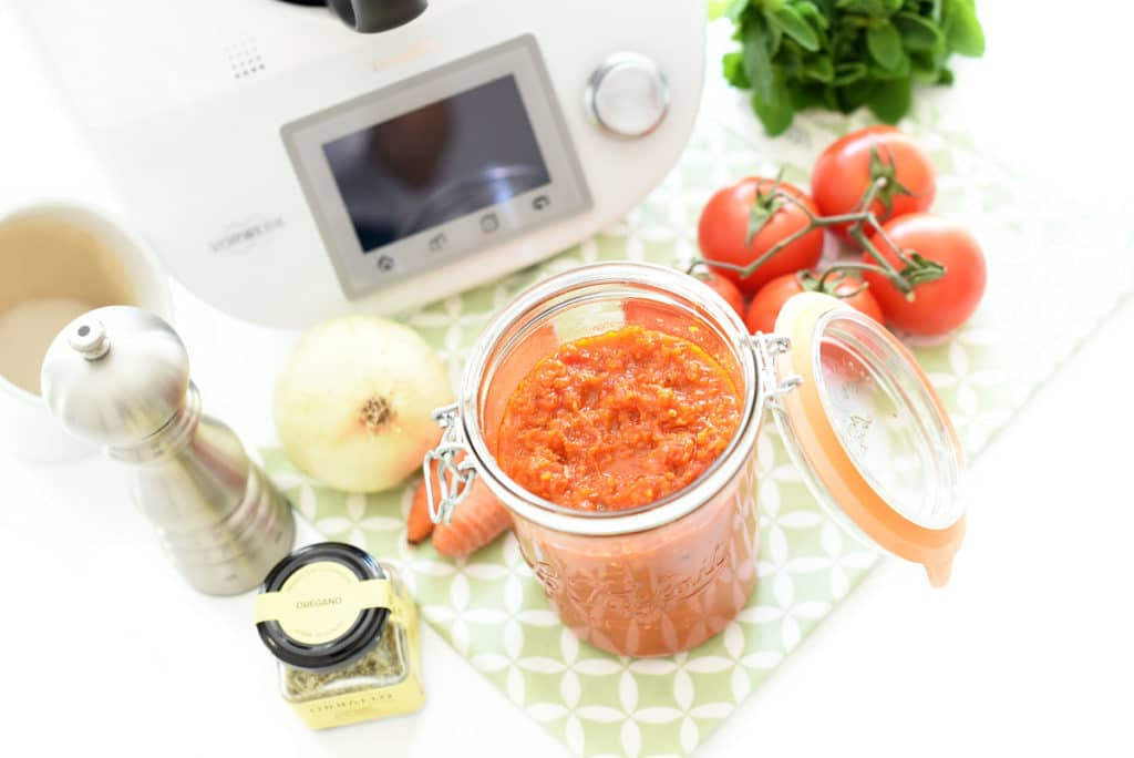 Tomate frito casero con Thermomix®