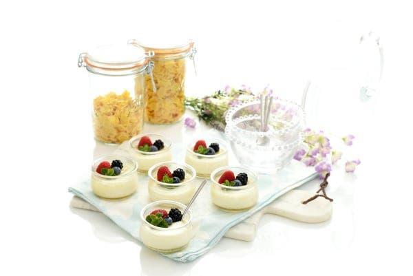 Yogur natural más cremoso con nata