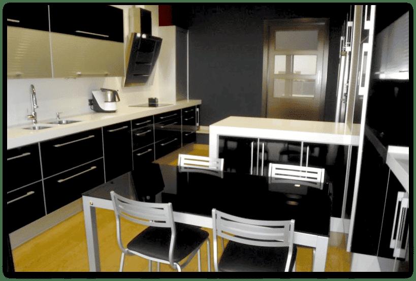 Dorable Decorar Una Cocina Con Electrodomésticos Negros Componente ...