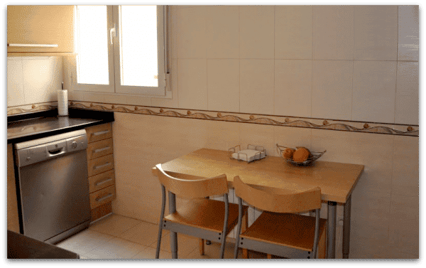 Cocinas en color roble
