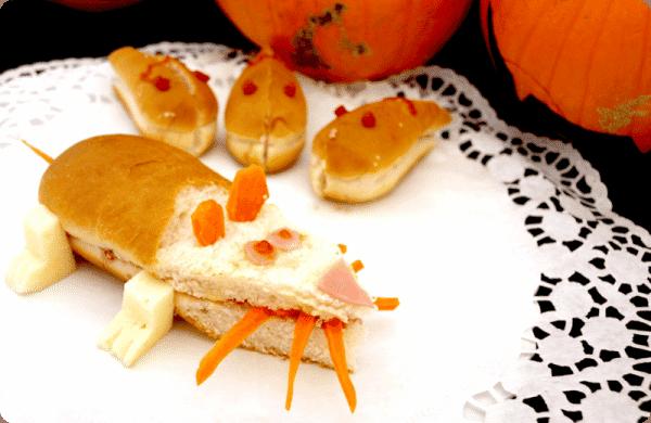 Ratones de Halloween