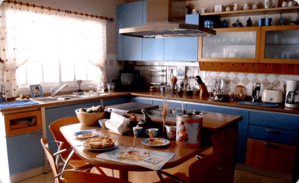 Cocina para grandes familias