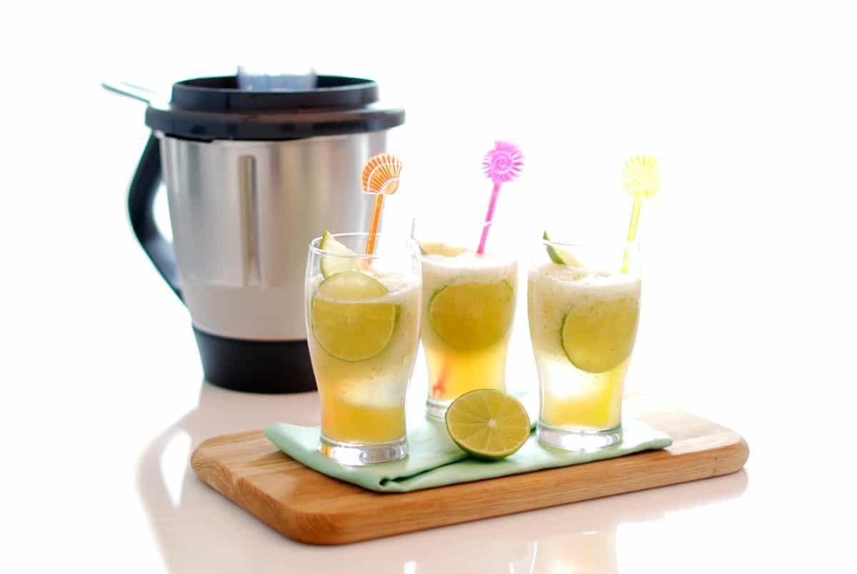 Granizado limon sin azucar thermomix