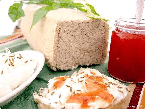 Pan de molde con semillas de amapola