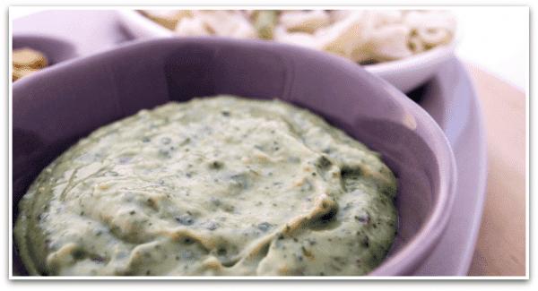 Salsa Pesto y Salsa tres quesos