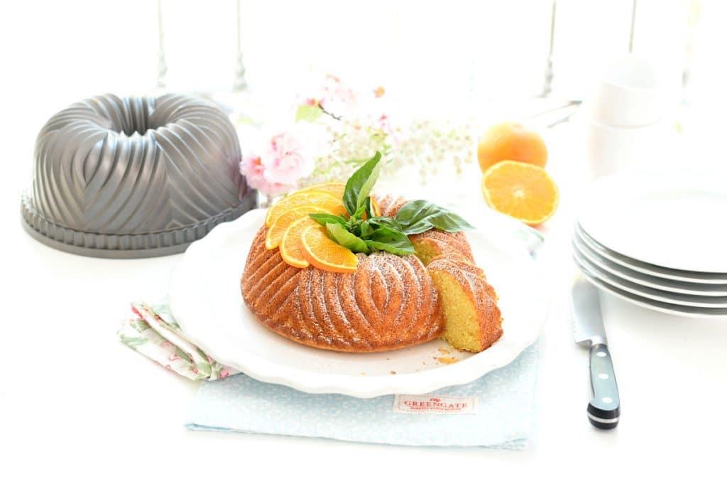 Bizcocho naranja con Thermomix®
