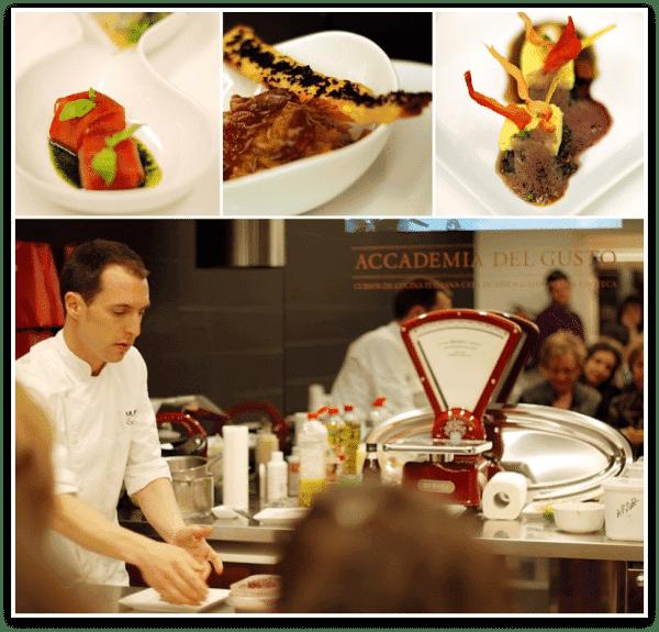 Accademia del gusto: los platos de Lucciano