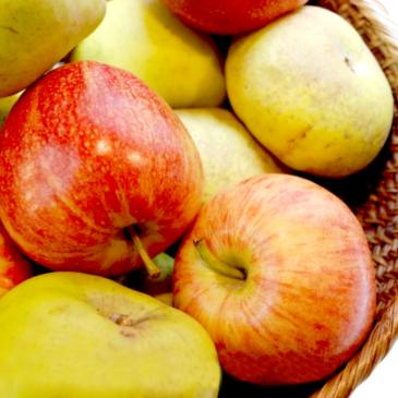 Fruta: un alimento básico