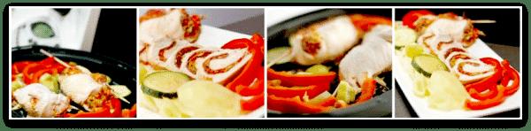 Pechugas de pollo, quedan muy coloristas :D