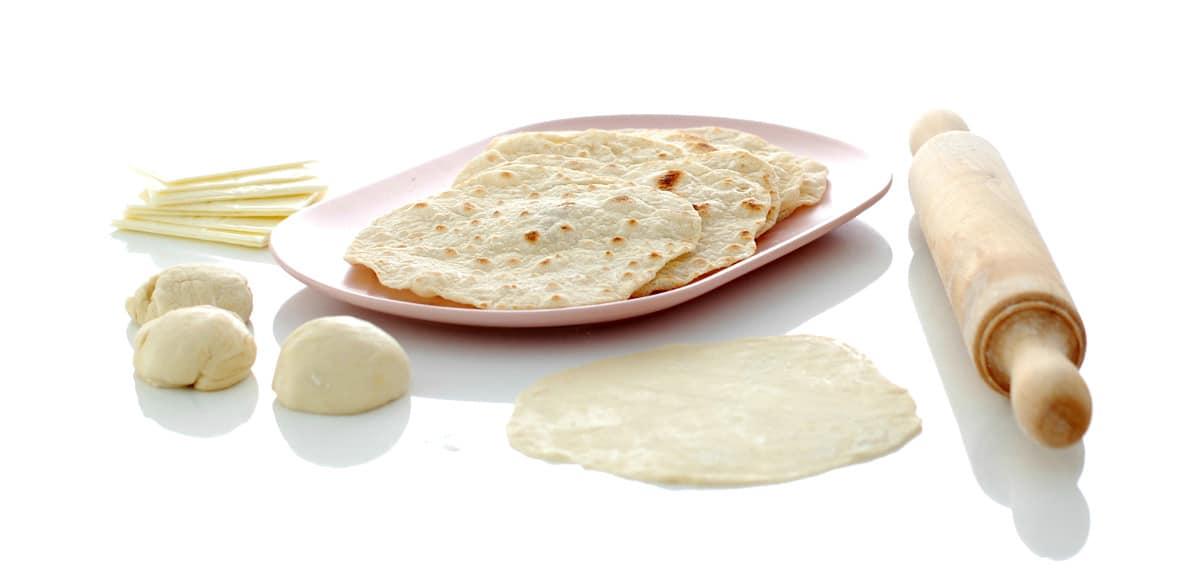 Tortitas de trigo mexicanas con Thermomix®