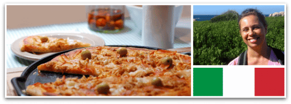 Masa pizza de Elisabetta