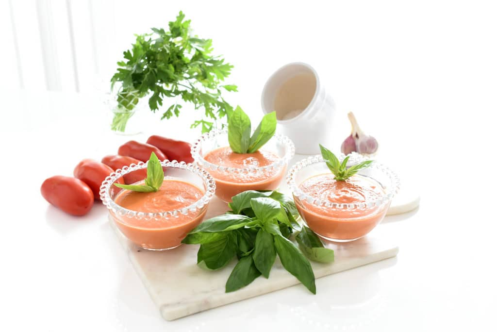 Gazpacho andaluz en Thermomix®