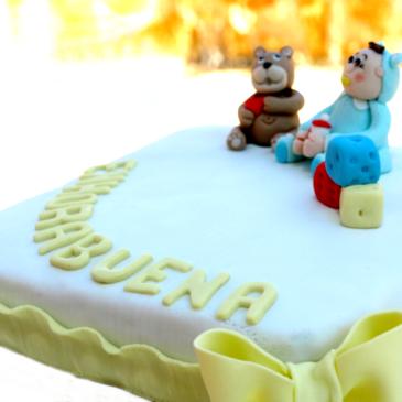 """Bizcocho """"madeira sponge cake"""" especial fondant"""