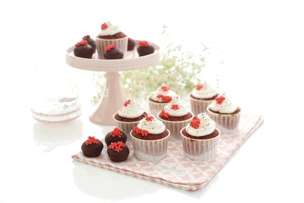 Red velvet cupcakes con Thermomix®