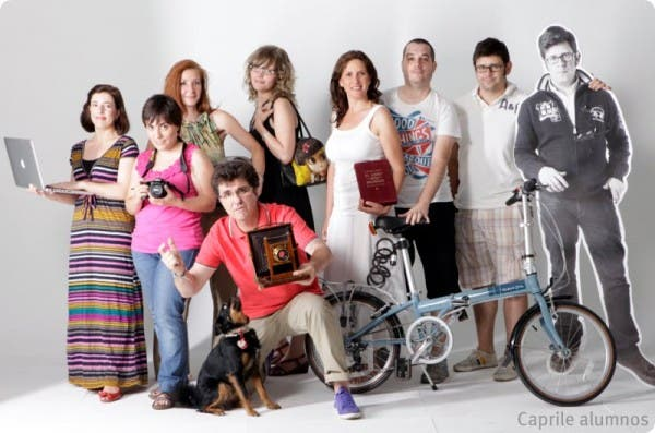 """Grupo de alumnos de Pasquale Caprile """"Fotografía creativa"""""""
