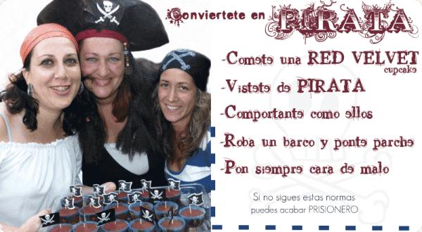 Las Piratas: Eva, Sheila y Vicky