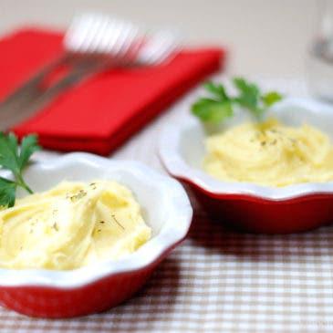 Puré de patatas a la Italiana