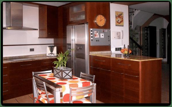 Cocina de grandes dimensiones