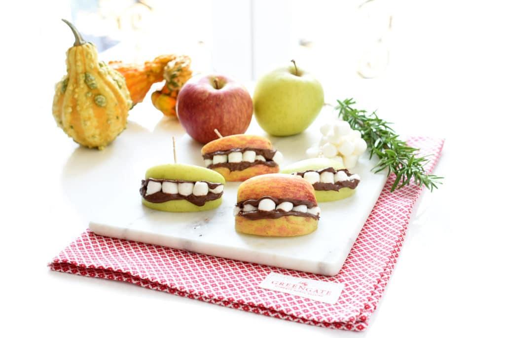 Dentaduras postizas de manzana, super fáciles