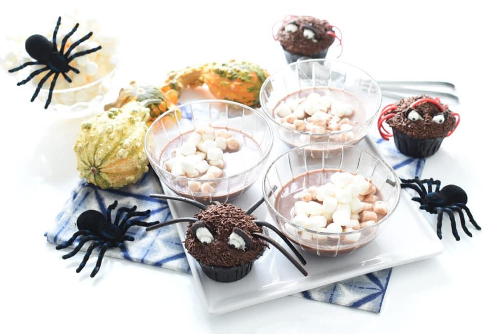 Sopa de huesos para la fiesta de Halloween