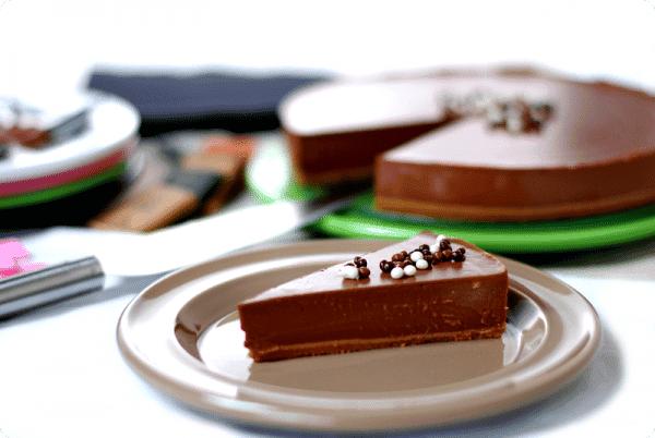 Tarta de cuajada con chocolate negro velocidad cuchara for Postres de cuchara