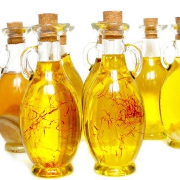 Aceites aromatizados, preparación