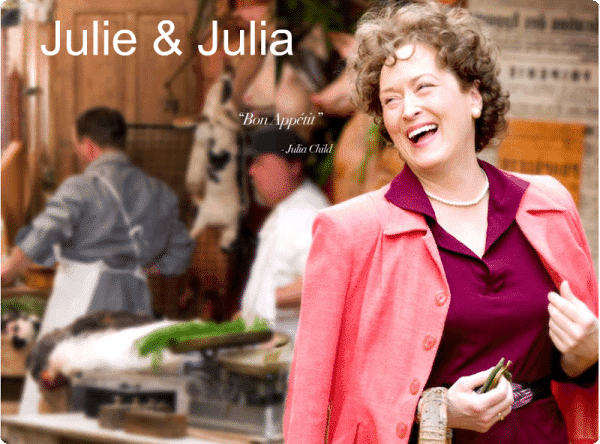 "Una película para regalar ""Julie and Julia"""