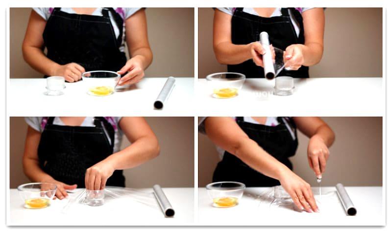 Como hacer un huevo poché paso a paso 1